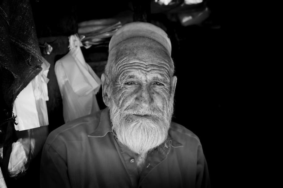 prodavač čepic v Gilgitu